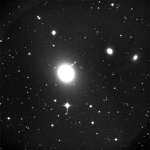 24 inch telescope image of M87